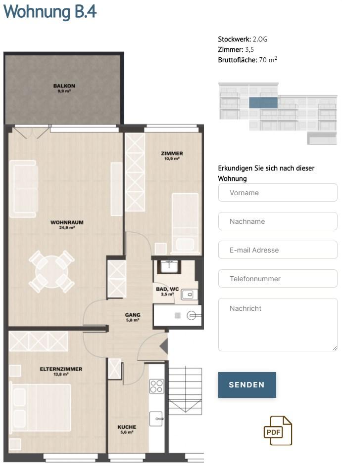 alpenblick room plan
